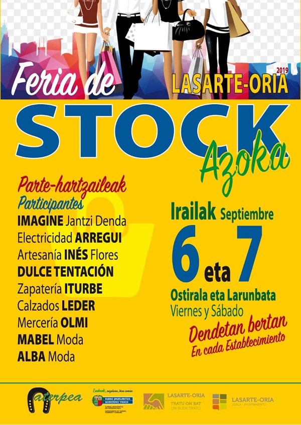 Cartel Feria de Stock 2019