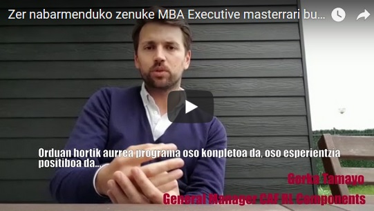 mba executive EU